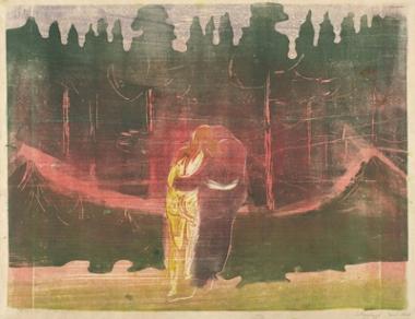 Edvard Munch, Toward the Forest I